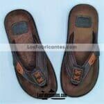 ZJ02193 Huarache artesanal piso hombre mayoreo fabricante calzado zapatos proveedor taller maquilador hombre piel