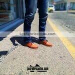 zj00260 Huarache Artesanal Mexicano Hecho mano piel hombre Zapato calzado mayoreo fabrica proveedor maquilador fabricante mayorista taller sahuayo michoacan