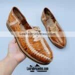 zj00586 Huarache artesanal piso hombre mayorista fabricante calzado zapatos proveedor sandalias taller maquilador