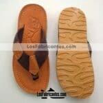 zj02196 Sandalia artesanal piso hombre mayoreo fabricante calzado zapatos proveedor sandalias taller maquilador