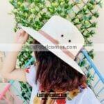 aj00124 Sombrero liso con estoquilla artesanal mayoreo fabricante proveedor ropa taller maquilador