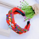 as00098 Lote de 6 piezas diadema artesanal bordada color rojomayoreo fabricante proveedor taller maquilador (1) (1)