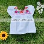 rj00763 Blusa artesanal infantil mayoreo fabricante proveedor ropa taller maquilador (2)