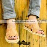 zj00938 Huaraches Mexicanos Calidad Premium Artesanales De Hombre Color Tan De Piel Con estilo pachuco abierto punta Hecho En Sahuayo Michoacanmayoreo fabricante calzado zapatos (2)